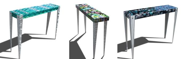 jon allen, fine metal art, statements2000, jon allen furniture, metal furniture, metal tables, table art,